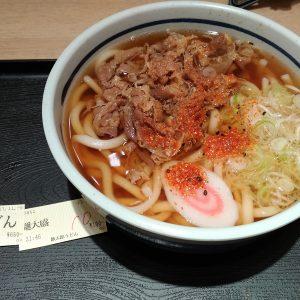 欽太郎うどん in NEOPASA静岡 下り