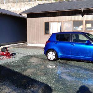 自動車の洗車とオイル交換!:17.12.06