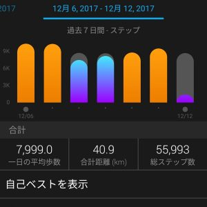 今週のステップ:17.12.12