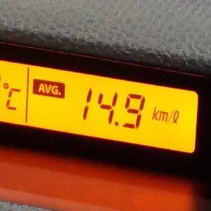 燃費記録:18.01.08