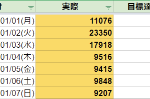 今週のステップ:18.01.01~18.01.07