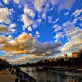 四条大橋近くの鴨川 | 関西夏季休暇録