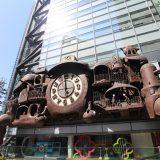 宮崎駿の日テレ大時計|東京桜ツアー2019
