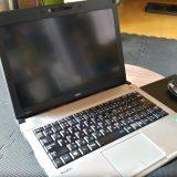 中古のサブ・ノートパソコンをゲット!-SSDとHDDは新品換装!!