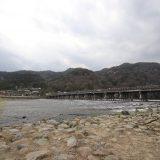 まったりとした雰囲気の嵐山・桂川|京都桜ツアー2020